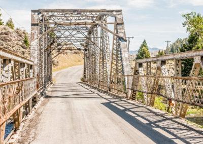 Rural Warren Truss Bridge