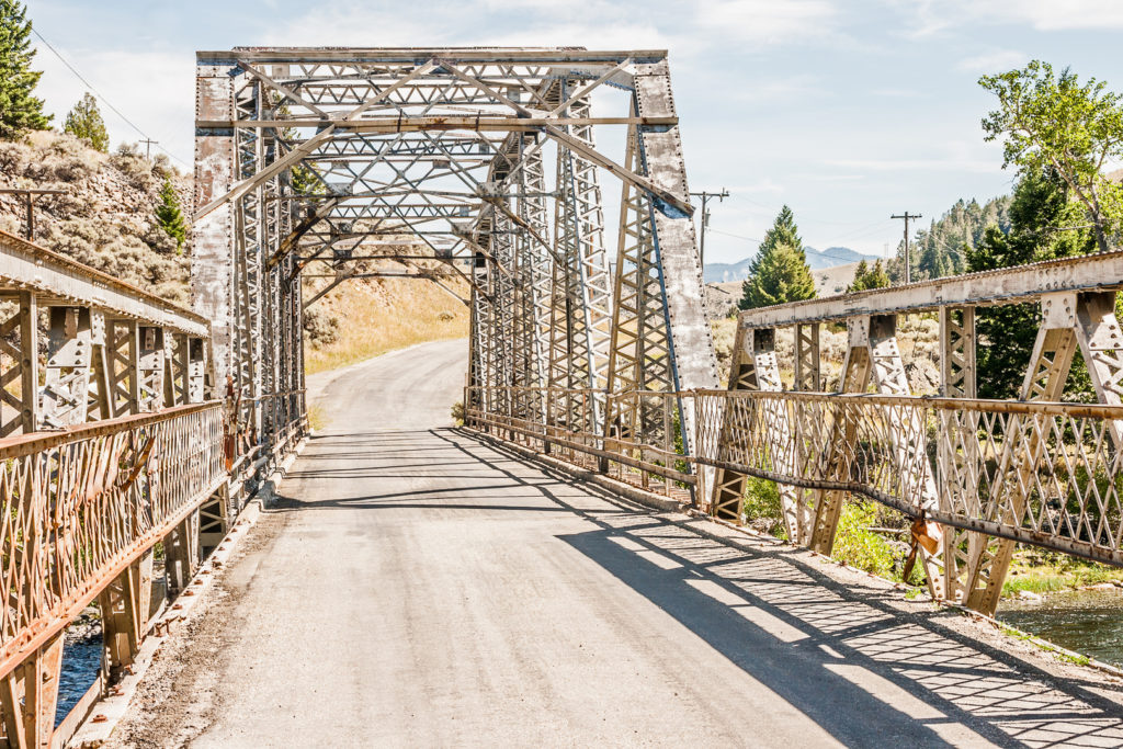 Rural Warren Truss Bridge